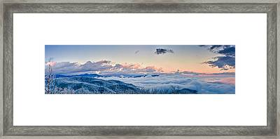 Framed Print featuring the photograph Frosty Morning by Joye Ardyn Durham