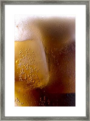 Frothy Action Up Close Framed Print by Sven Brogren