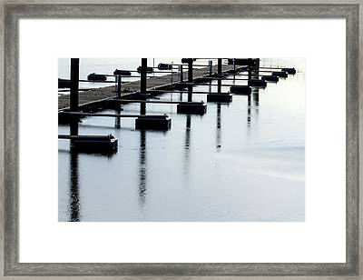 Frozen In Time Framed Print by Karol Livote