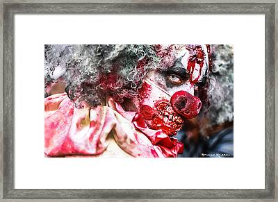 Framed Print featuring the photograph Frozen Tremors by Stwayne Keubrick