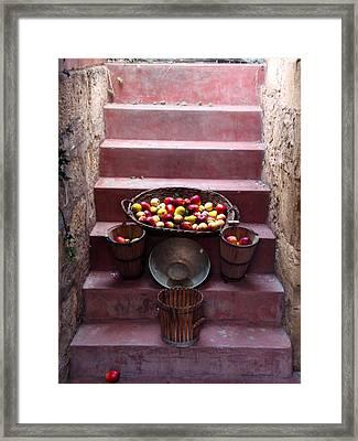 Fruit Basket Framed Print