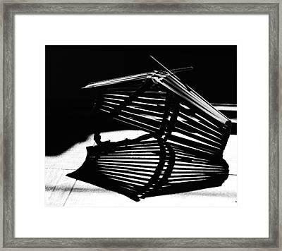 Fruit Basket Framed Print by Susan Capuano