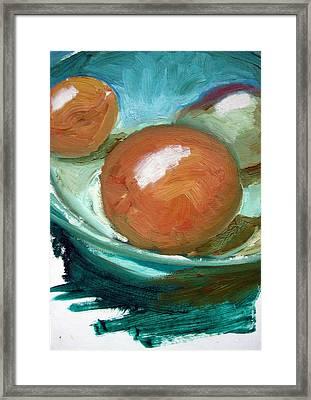 Fruit Bowl Framed Print by Robert Bruce