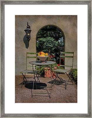 Fruit Bowl Framed Print by Robin-Lee Vieira