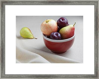 Fruit Bowl Still Life Framed Print