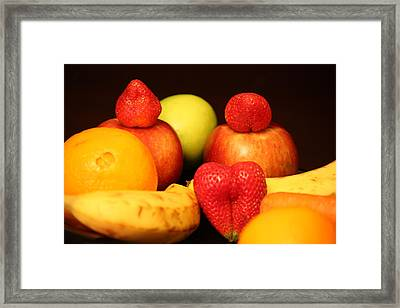 Fruit Dreams Before Daybreak Framed Print by Andrea Nicosia