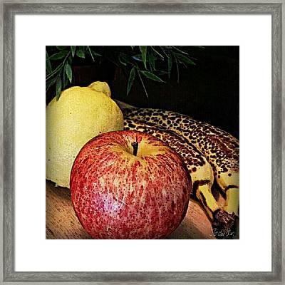 Fruit. #fruit #freshfruit #fresh #ripe Framed Print