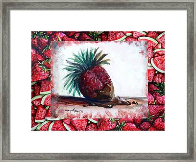 Fruit Fusion Framed Print by Shana Rowe Jackson