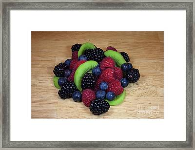 Fruit Mixture 2 Framed Print by Michael Waters