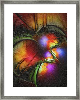 Fruit Of The Forest Framed Print by Amanda Moore