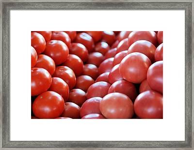 Fruit Or Vegetable Framed Print