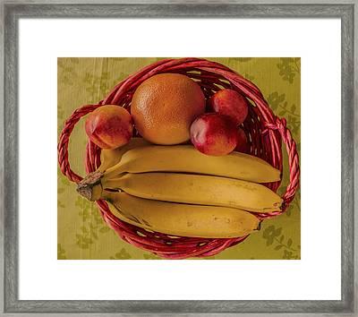 Fruits Framed Print by John Nasir
