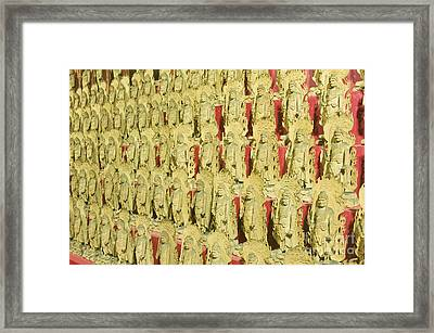 Fudo Statues Framed Print