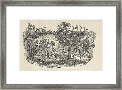 Fugitive Slave Henry Bibb�s Familys Framed Print