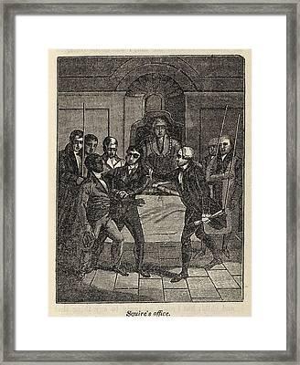 Fugitive Slave Henry Bibb Appears Framed Print