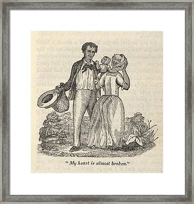 Fugitive Slave Henry Bibb Escaped Framed Print