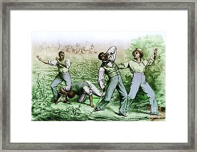 Fugitive Slave Law Framed Print