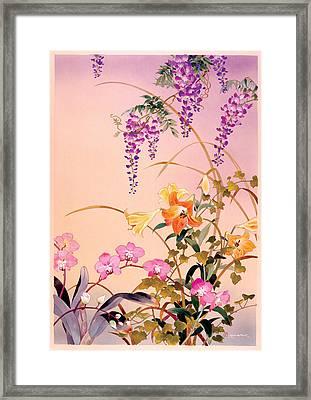 Fuji & Juri Framed Print by Haruyo Morita