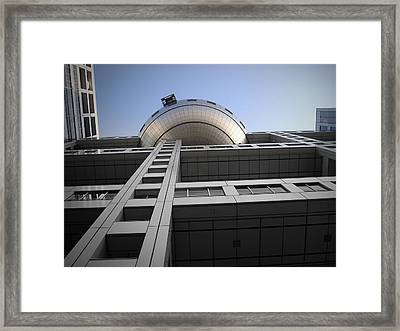 Fuji Building Framed Print