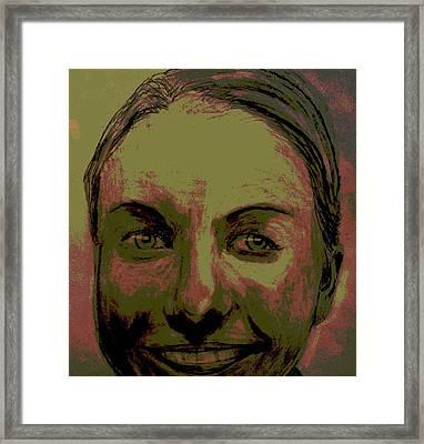 Full Hart Framed Print by Bradley   Howell