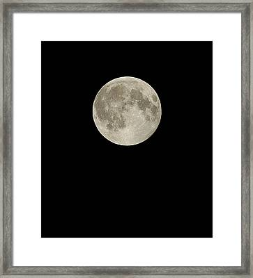 Full Moon Framed Print by Eckhard Slawik