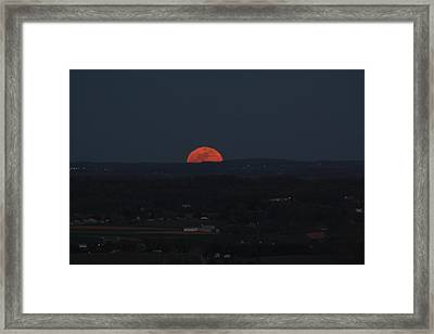 Full Moonrise Framed Print