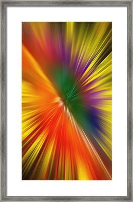 Full Of Energy Framed Print