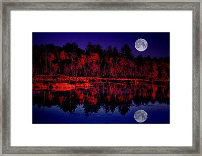 Full Reflection Framed Print by Emily Stauring
