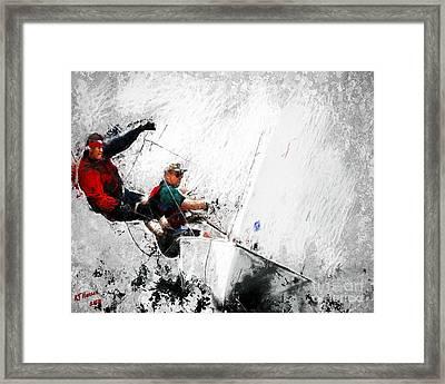 Full Sail Framed Print