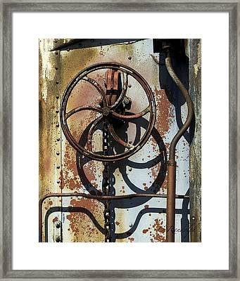 Framed Print featuring the photograph Full Stop by Cheri Randolph