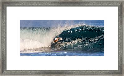 Full Throttle Framed Print by Ron Regalado