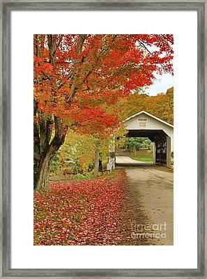 Fuller Bridge Framed Print by Deborah Benoit