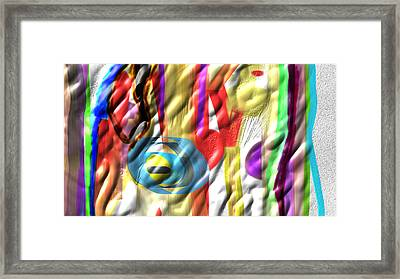 Fullmix Framed Print by Rosana Ortiz