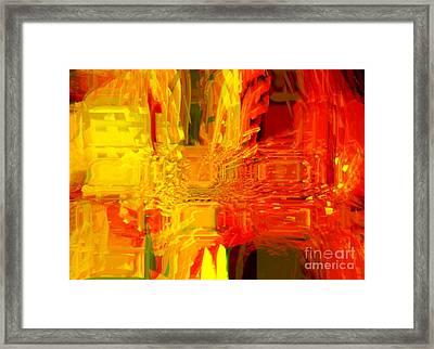 Fully Alive Framed Print by Fania Simon