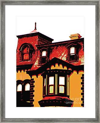 Fulton Mansion Framed Print