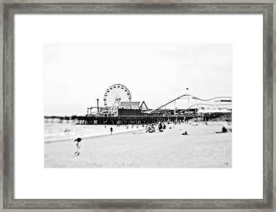 Fun At The Beach Framed Print by Scott Pellegrin