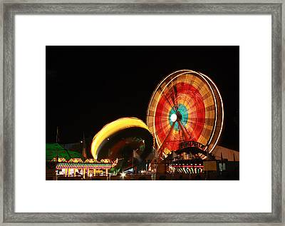Fun At The Fair Framed Print by Tyra  OBryant