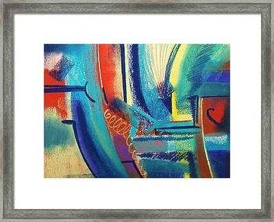 FUN Framed Print by Marie-Claire Dole