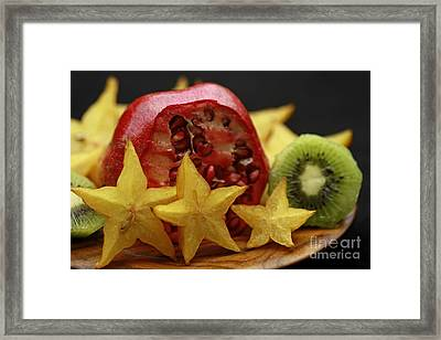 Fun With Fruit Framed Print