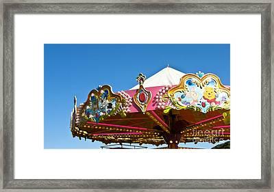 Funfair Framed Print by Jo