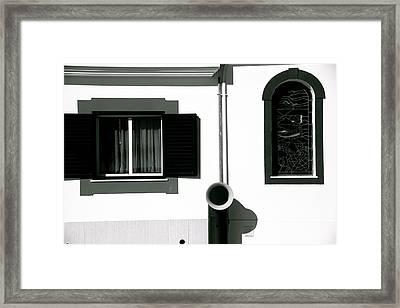 Funnel Alert Framed Print by Jez C Self