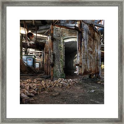Furnace Framed Print by Denis Taraskin