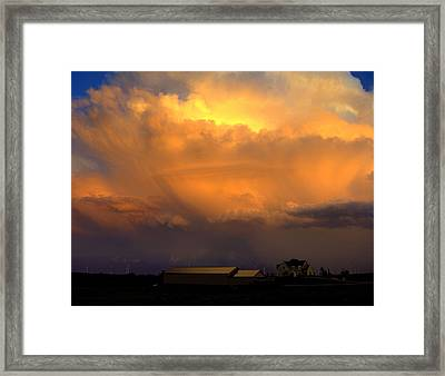 Fury Framed Print by Claude Oesterreicher