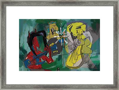 Fusion. Framed Print by Louie Villa