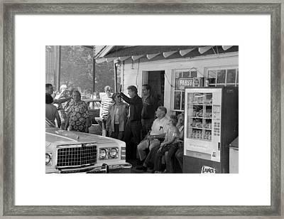 Future President Jimmy Carter Center Framed Print by Everett