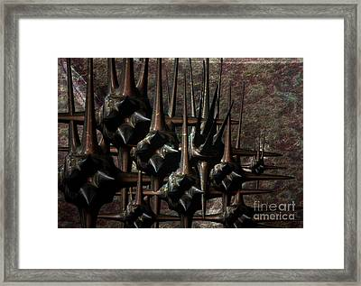 Futuristic Architecture Framed Print by Jan Willem Van Swigchem