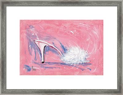 Fuzzy Comfort Framed Print by Richard De Wolfe