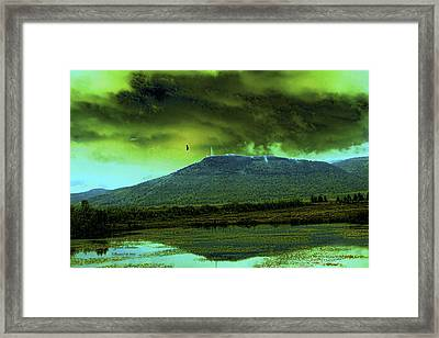 Framed Print featuring the photograph G-d Is Watching You by Itzhak Richter