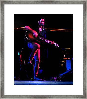 G Love 2 Framed Print by David A Brown