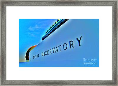 G O Framed Print by John King